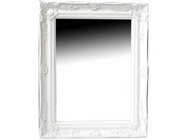 Wandspiegel FIONA weiß Barock 46,5 x 37 cm
