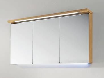 Spiegelschrank Chicago Puris Korpus:schwarz;Front:spiegel;Griff:spiegelschränke/spiegel