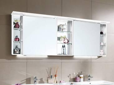 Spiegelschrank London Puris Korpus:184 eiche hell nachbildung;Front:spiegel;Griff:spiegelschrank