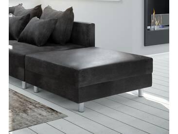 DELIFE Modul Clovis Hocker Antik anthrazit, Design Modulsofas, Couch Loft, Modulsofa, modular