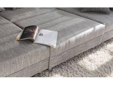 DELIFE Modul Clovis Hocker hellgrau, Design Modulsofas, Couch Loft, Modulsofa, modular