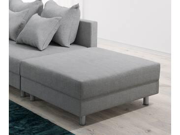 DELIFE Modul Clovis Hocker grau, Design Modulsofas, Couch Loft, Modulsofa, modular