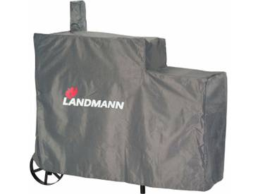 Landmann Grill-Abdeckhaube Premium XL 140x65x114 cm Grau 15709