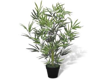 vidaXL Künstlicher Bambusbaum mit Topf 80 cm