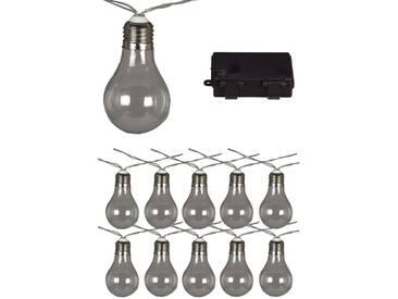 Luxform Batteriebetriebene Partylichter mit 10 LEDs Transparent 95110