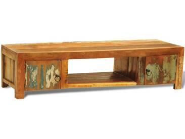 vidaXL Sideboard TV-Tisch Vintage Retro Massivholz Zwei Türe