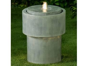 Velda Wasserbrunnen mit LED-Zylinder 851355
