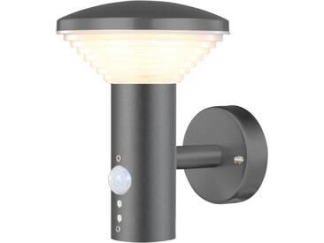 Luxform LED-Garten-Wandleuchte mit PIR Sensor Bitburg 230 V LUX1704Z
