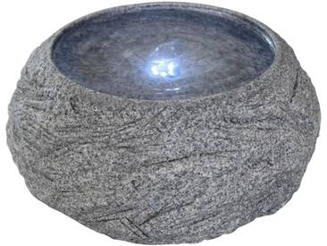 Velda Steinbrunnen mit LED-Licht Schalenform 851208