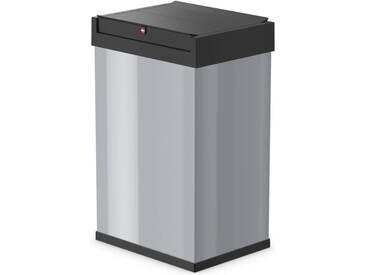 Hailo Abfallbehälter Big-Box Swing Größe L 35 L Silber 0840-121