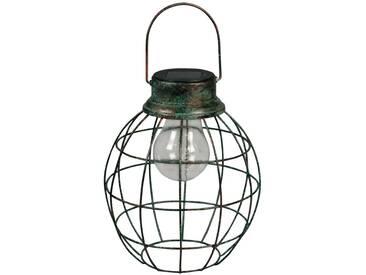 Luxform Solar LED Garten Hängeleuchte Tango Grün 30101