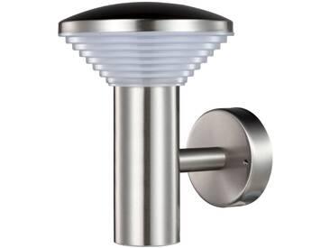 Luxform LED-Garten-Wandleuchte Trier Silbern 230 V LUX1700S