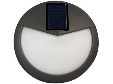 Luxform Solar LED-Garten-Wandleuchten Pasadena Anthrazit 38187