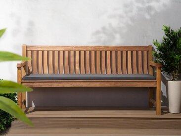 Beliani Auflage für Gartenbank TOSCANA/JAVA graphit 169 x 50 x 5 cm