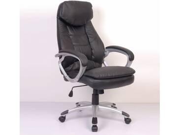 vidaXL Bürostuhl Chefsessel Business IDEAL schwarz