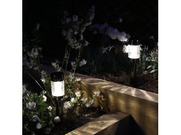Luxform Solar LED-Gartenleuchte Macon 12 Stk.