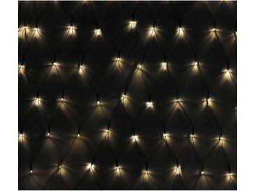 vidaXL LED Lichternetz 3 x 1 Meter wasserdicht