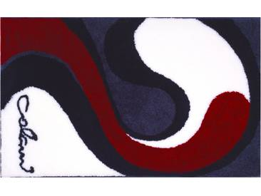 Badematte »Colani 7B« Colani, Höhe 24 mm, rutschhemmend beschichtet, fußbodenheizungsgeeignet, grau, rechteckig 80x150 cm