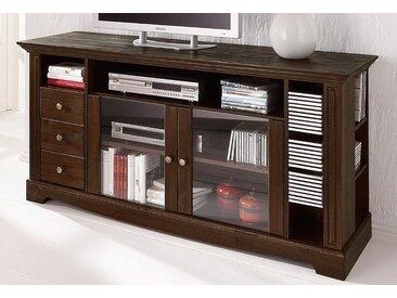 Home affaire TV-Board, Breite 153 cm, Belastbarkeit bis 40 kg, braun