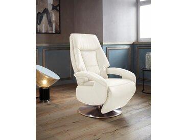 Places of Style TV-Sessel »Launceston«, in Größe M, wahlweise mit Motor und Aufstehhilfe, beige, NaturLEDER®
