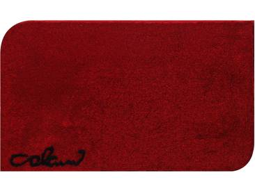 Badematte »Colani 40« Colani, Höhe 24 mm, rutschhemmend beschichtet, fußbodenheizungsgeeignet, rot, quadratisch 60x60 cm