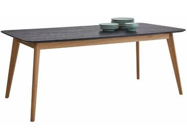 GMK Home & Living Esstisch «Calluna», im modernen, skandinavischen Design, in verschiedenen Größen und Farben, Guido Maria Kretschmer Home&Living, schwarz