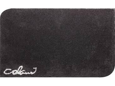 Badematte »Colani 40« Colani, Höhe 24 mm, rutschhemmend beschichtet, fußbodenheizungsgeeignet, grau, quadratisch 60x60 cm