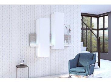 Hängeelement, Höhe 142,4 cm, Trendmanufaktur, weiß