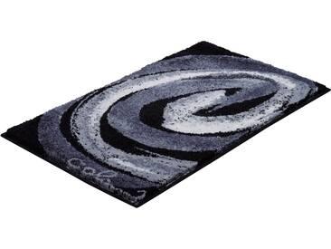 Badematte »Colani 42« Colani, Höhe 24 mm, rutschhemmend beschichtet, fußbodenheizungsgeeignet, grau, rechteckig 70x120 cm