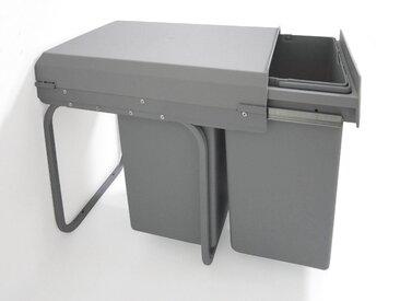 OPTIFIT Einbau-Abfallsammler für Schrankbreiten ab 30 cm, grau