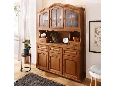 Home affaire Buffet »Hans«, Breite 139 cm. im rustikalen Landhausstil, braun