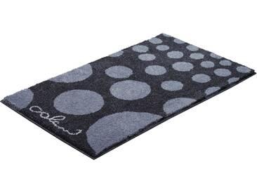 Badematte »Colani 16« Colani, Höhe 24 mm, rutschhemmend beschichtet, fußbodenheizungsgeeignet, grau, rechteckig 50x60 cm