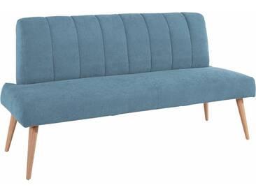 exxpo - sofa fashion Bank, Breite 182 cm, blau, STRUKTUR
