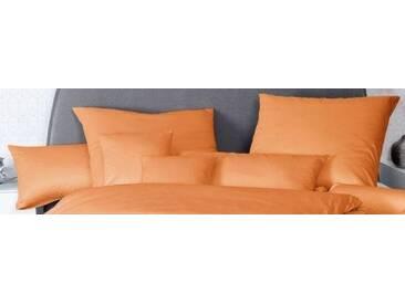 Kissenbezug »Colors«, Janine, mit großer Farbauswahl, orange, Baumwolle, 2x 80x40 cm
