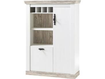 Home affaire Kommode»Florenz« im romantischen Landhaus-Look, Breite 105 cm, weiß