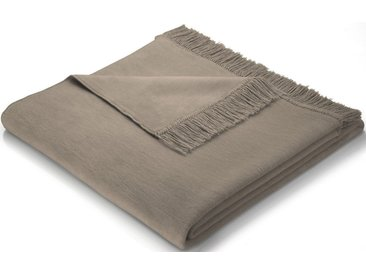 Sofaläufer »Cotton Cover«, BIEDERLACK, mit Fransen versehen, braun, Baumwolle-Kunstfaser, 100x200 cm