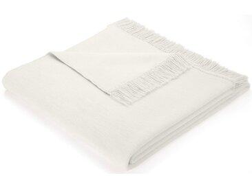 Sofaläufer »Cotton Cover«, BIEDERLACK, mit Fransen versehen, beige, Baumwolle-Kunstfaser, 100x200 cm