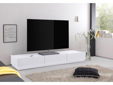 Places of Style TV-Lowboard »Zela« mit 3 Schubladen, Breite 184 cm, weiß