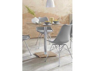 MCA furniture Säulen-Esstisch, Breite 80 cm, grün