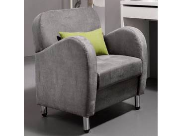 INOSIGN Sessel im Vintage-Look, Luxus-Microfaser