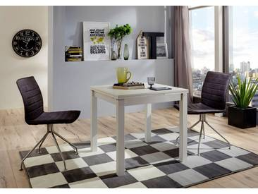 NIEHOFF SITZMÖBEL Esstisch mit Auszugsfunktion »Minimax«, in 3 Farben und 3 Größen, weiß