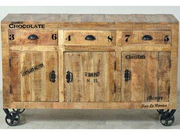 SIT Sideboard »Rustic«, im Factory Design, Breite 140 cm, SIT-Möbel