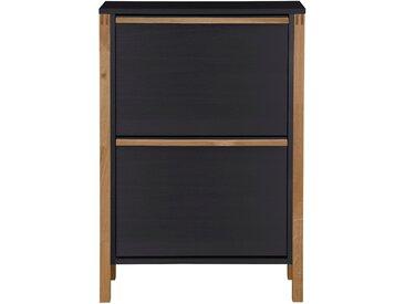 Woodman Schuhkommode »Northgate«, schwarz, 64,5 cm x 92,5 cm x 27 cm