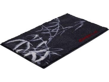 Badematte »Colani 23« Colani, Höhe 24 mm, rutschhemmend beschichtet, fußbodenheizungsgeeignet, grau, rechteckig 70x120 cm