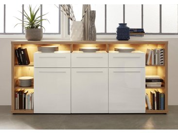 trendteam Sideboard »Odino«, Breite 210 cm, weiß