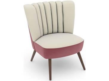 Max Winzer® build-a-chair Stuhlsessel »Aspen« im Retrolook, zum Selbstgestalten, beige