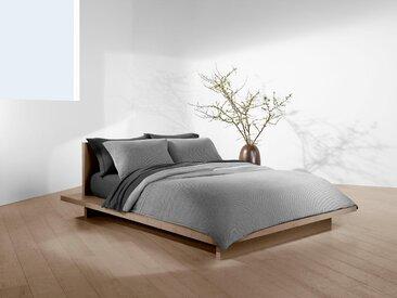 Wendebettwäsche »Jared«, Calvin Klein home, mit feinem Muster & Uni Seite