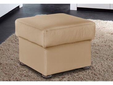 sit&more Hocker, braun, NaturLEDER®