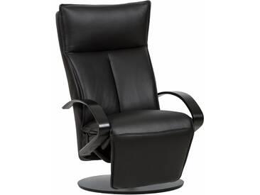 Places of Style Relaxsessel »Codi 3000« mit integrierter Relaxposition de Luxe, schwarz, Leder PRIME