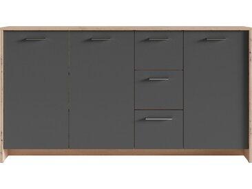 Homexperts Sideboard »Benno«, Breite 153 cm, grau